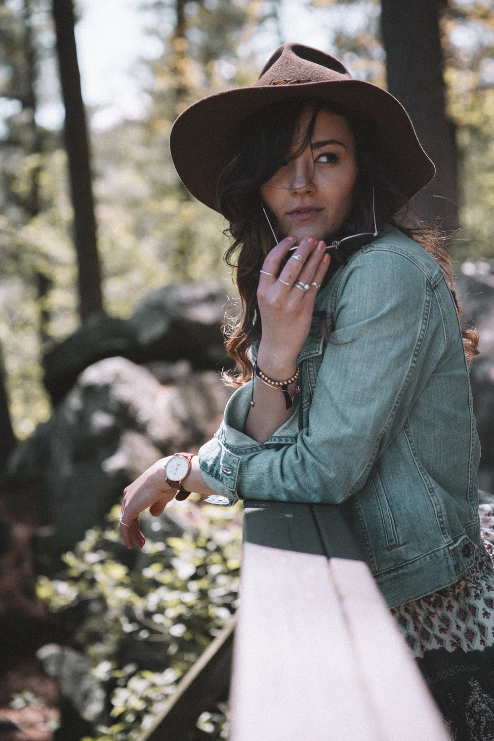 L.L. Bean 1912 Jean Jacket (in Stonewashed) | Rokoko by Dazz Dress