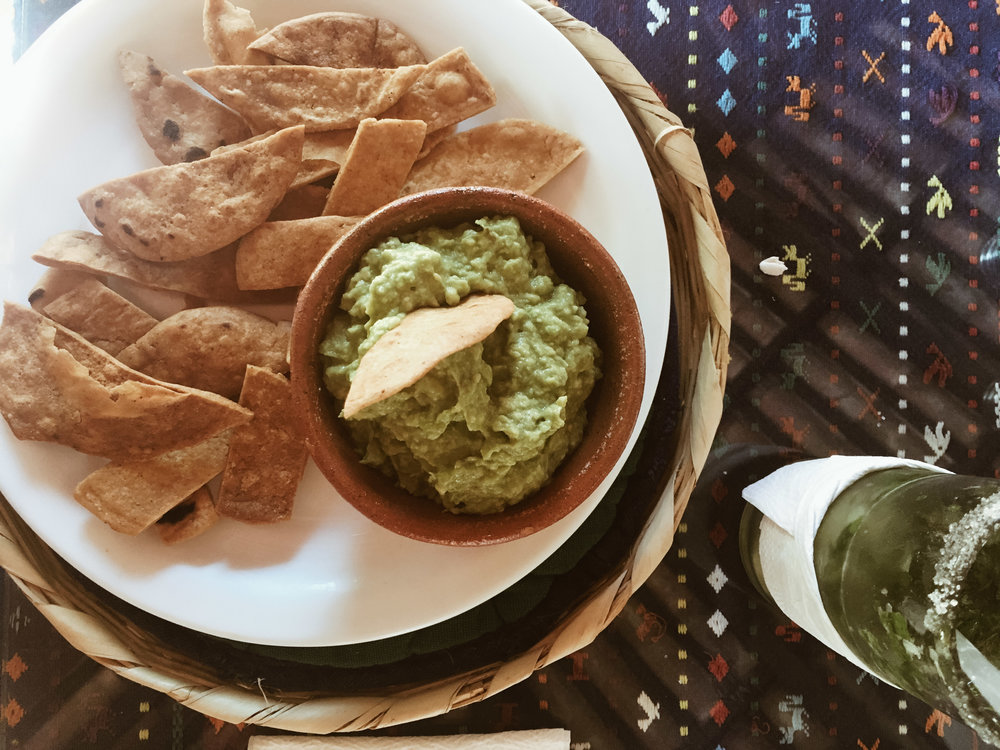 guac + tortilla chips every day. all day. this is the only picture I took this day.