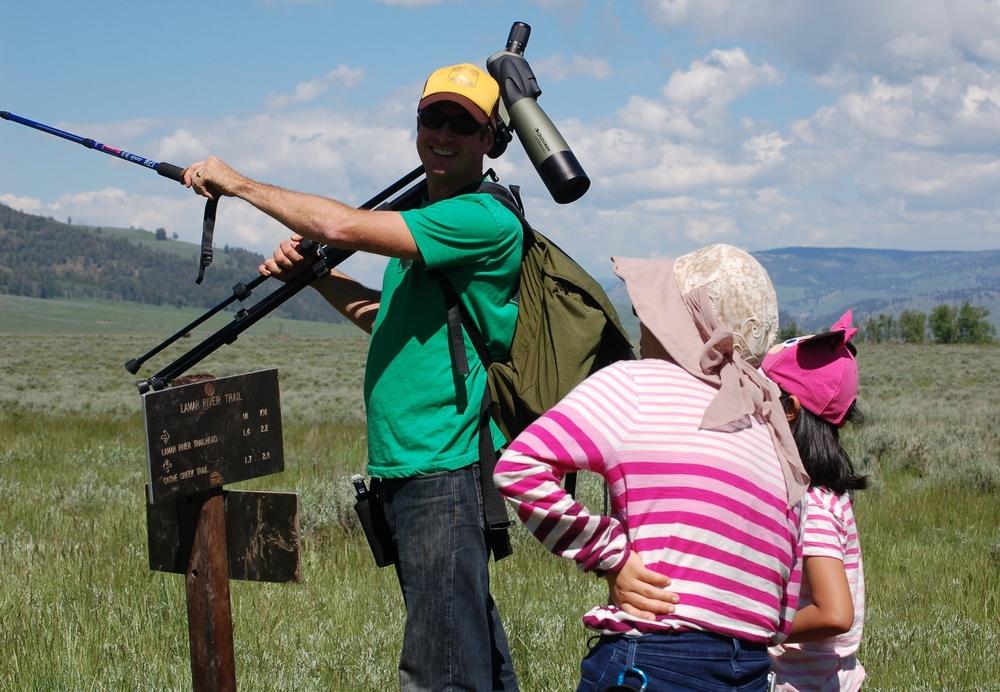 Yellowstone Hiking Guides, Josh Mahan