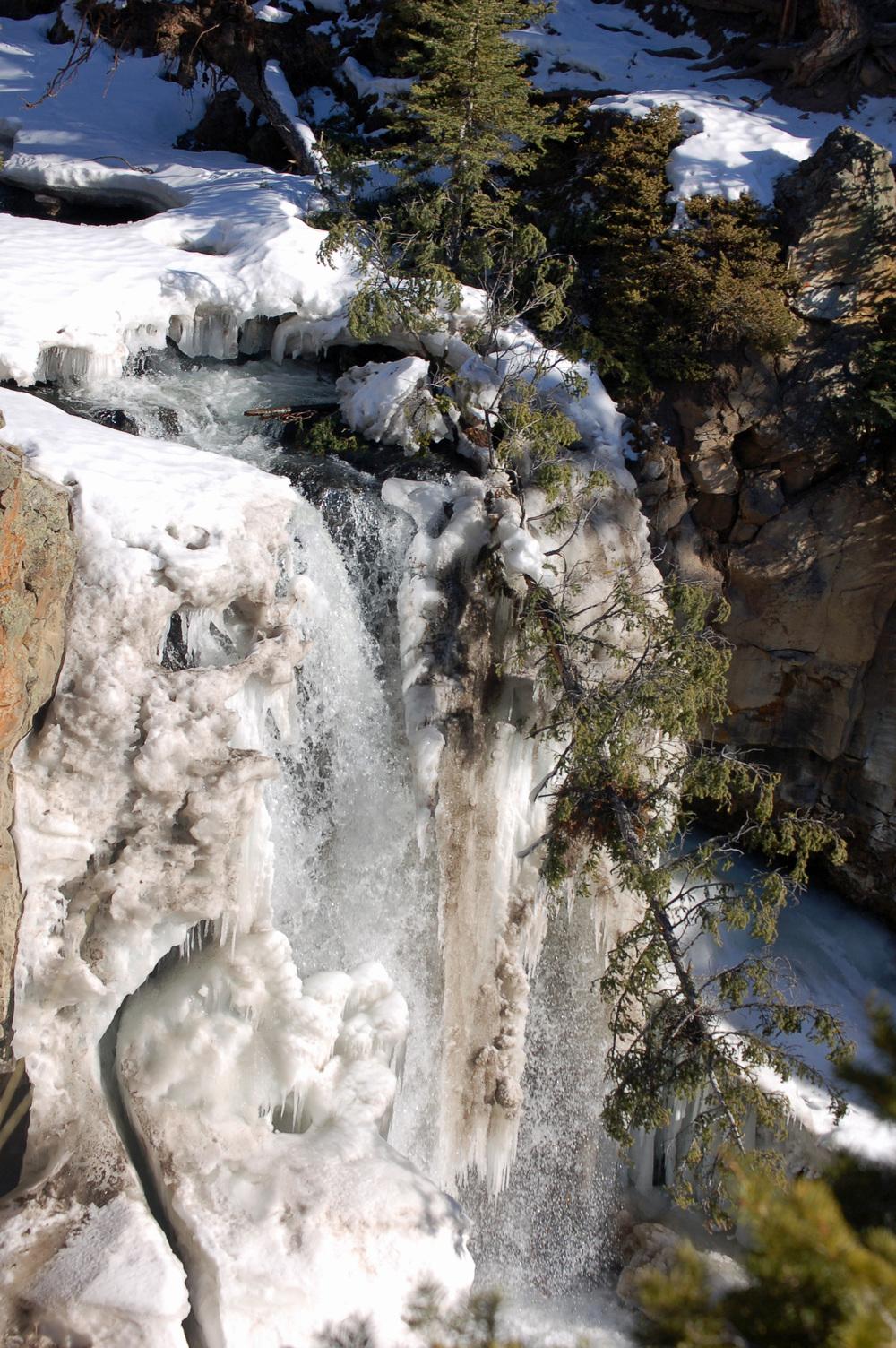 Undine Falls Iced Over