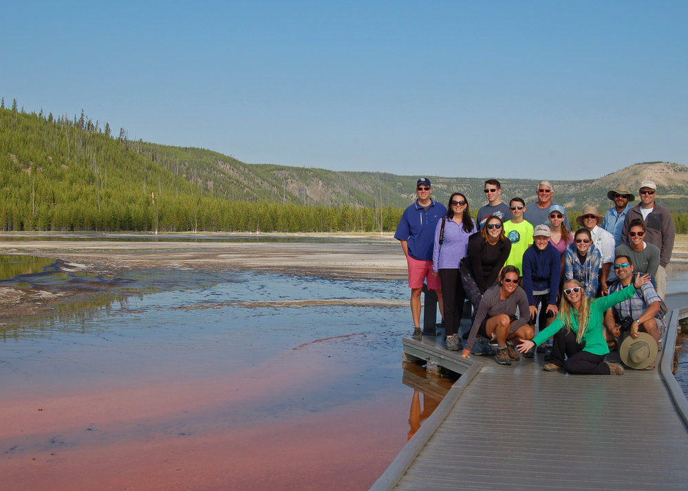 National Geographic Group at Grand Prismatic