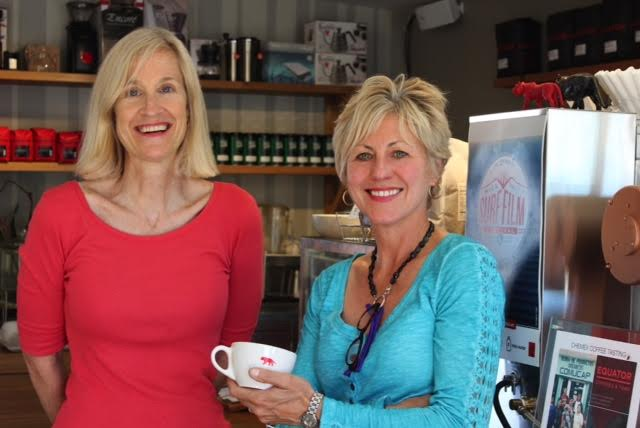 Brooke McDonnell, left, and Helen Russell, owners of Equator Coffees & Teas