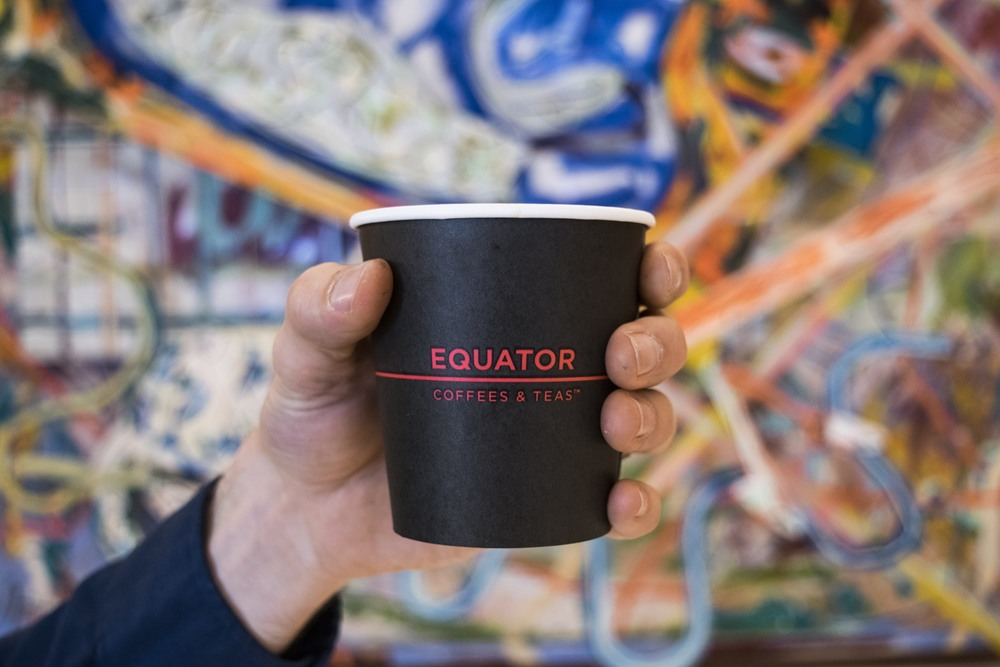 Cheers, Equator Coffees & Teas