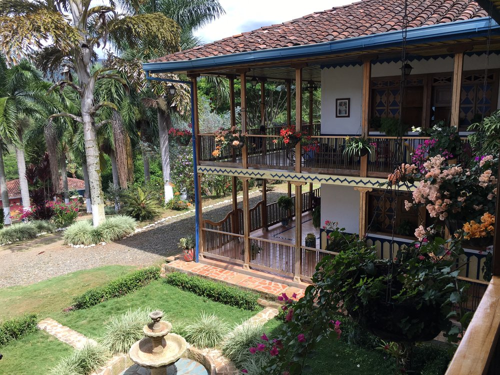 The farm house at Finca La Esperanza