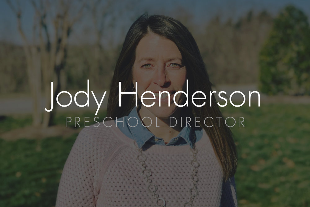 Jody Henderson: Preschool Director Email: jody@hopepark.com | Phone: 615.662.4488