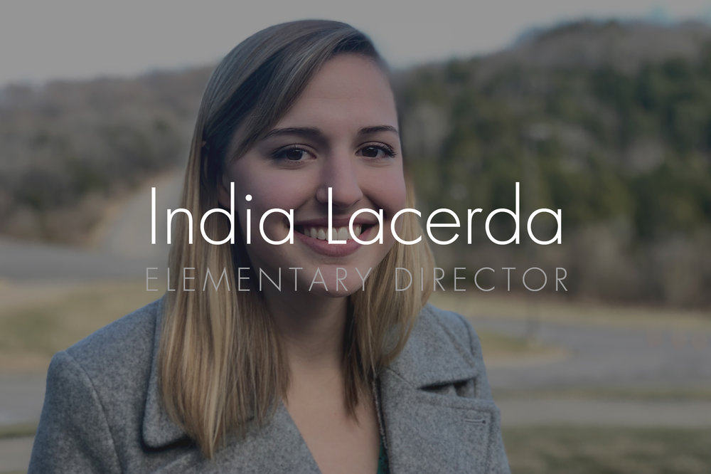 India Lacerda: Elementary Director Email: india@hopepark.com | Phone:615.662.4488