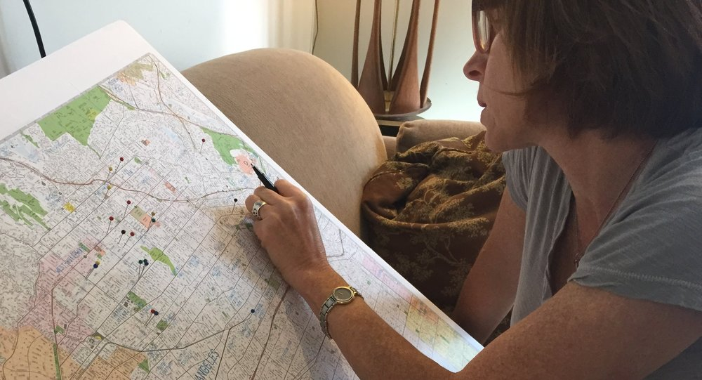Kim mapping board locations
