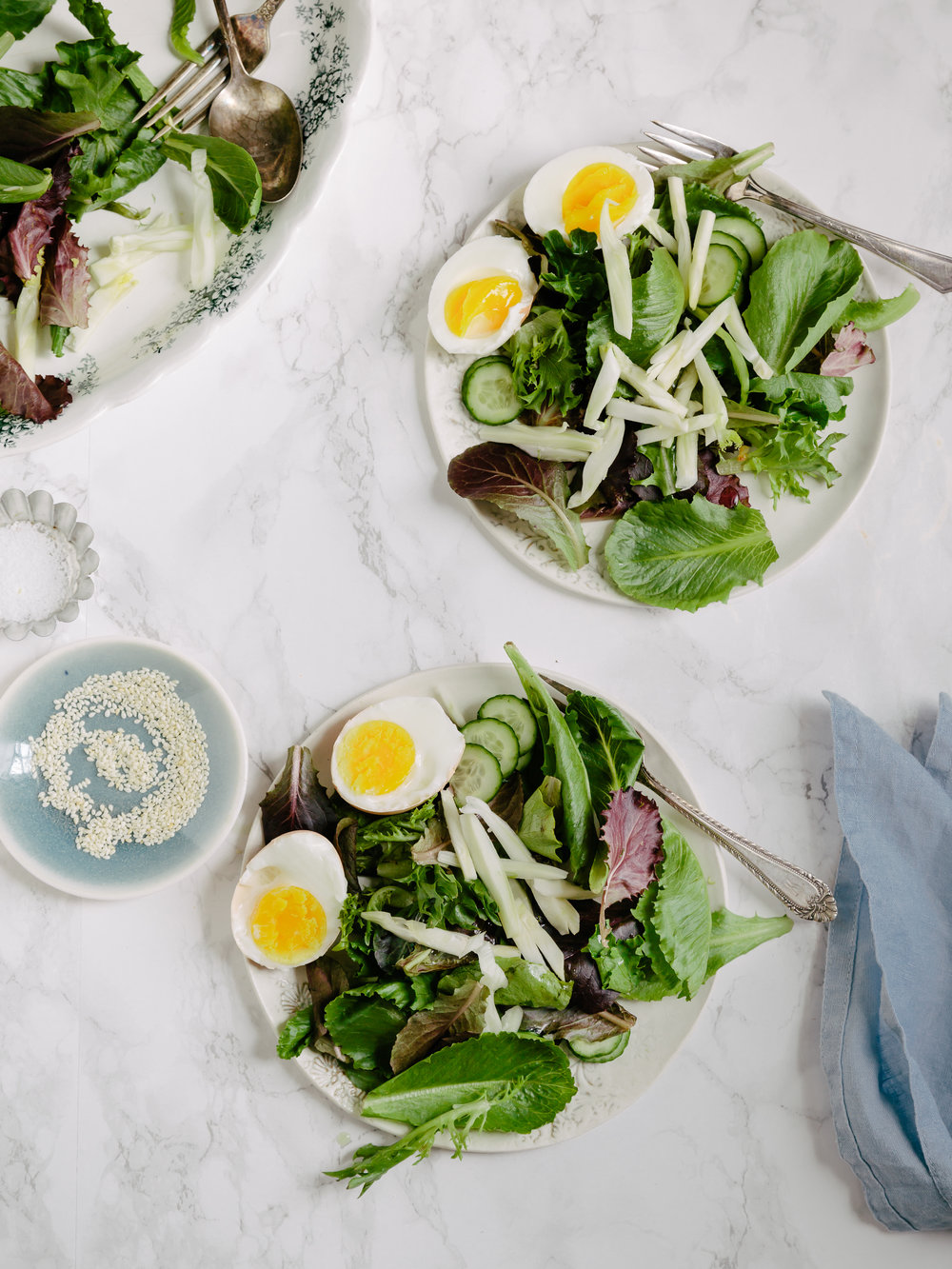 leaves salad with fennel and eggs.jpg