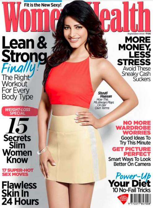 The cover of  Women's Health .