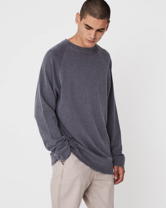 Ocean Lightweight Fleece (Slate) - $69.90
