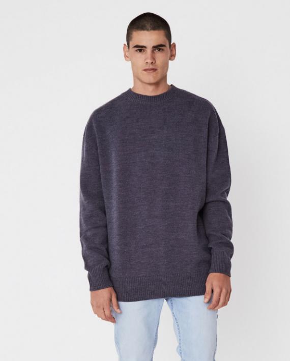 Oversized Knit (Slate) - $119.90