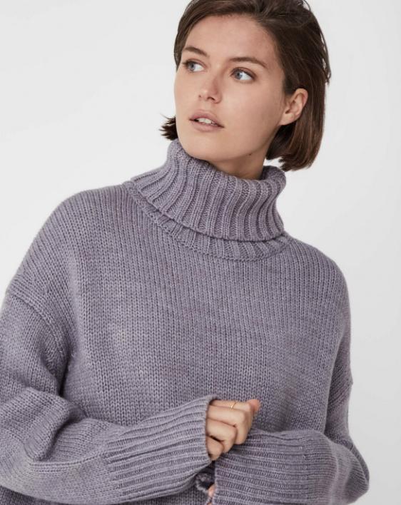 Fold Knit (Stone Marle) - $149.90