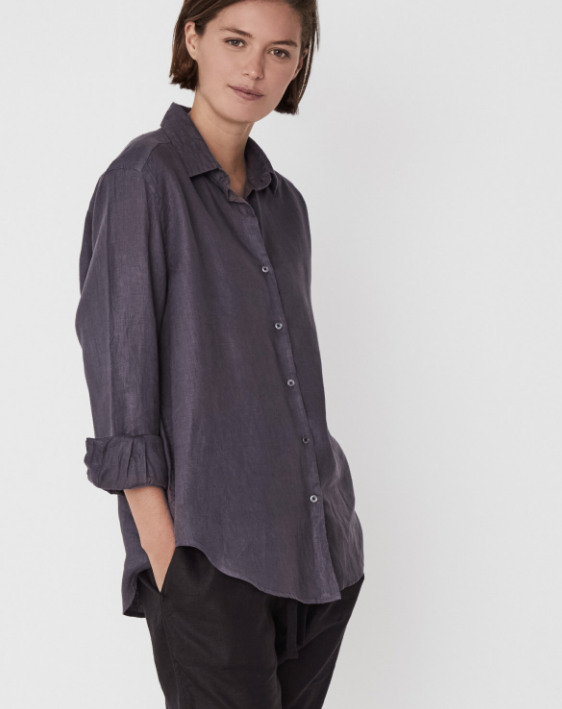 Xander Long Sleeve Shirt (Slate) $119.90