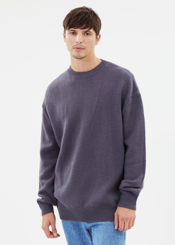 Oversized Knit (Coal) - $119.90