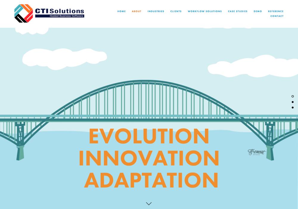CTI SOLUTIONS - Website Illustrations