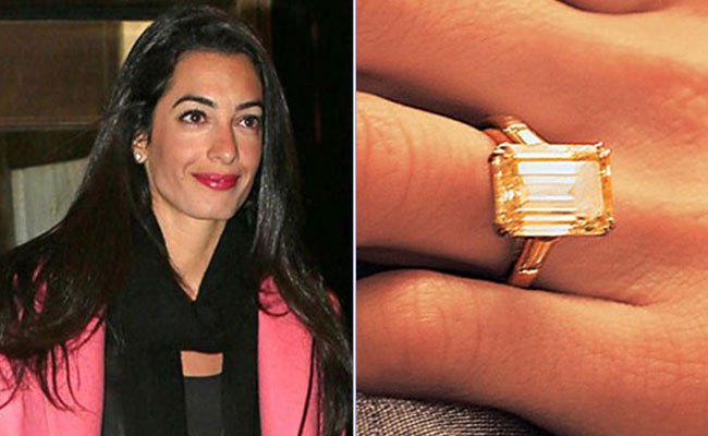 Top 6 Celebrity Engagement rings of 2014 Diamond Collection