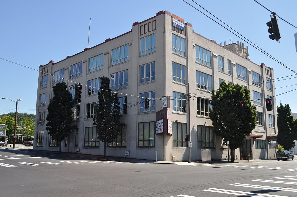 RDA Building, the location of our wine storage facility near Seattle downtown