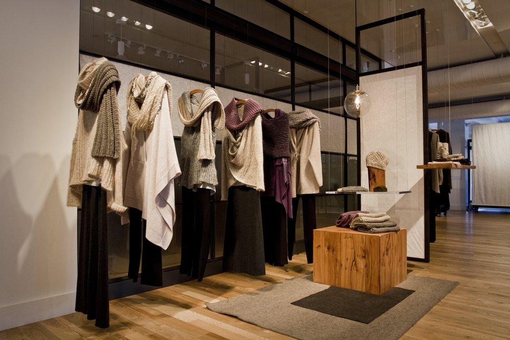 showroom design, Eileen Fisher Wholesale, New York