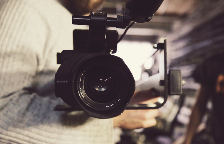 Lights. Camera. Action. Share your view via video.