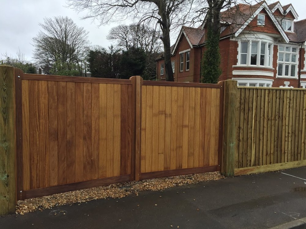 Iroko Richmond Gates