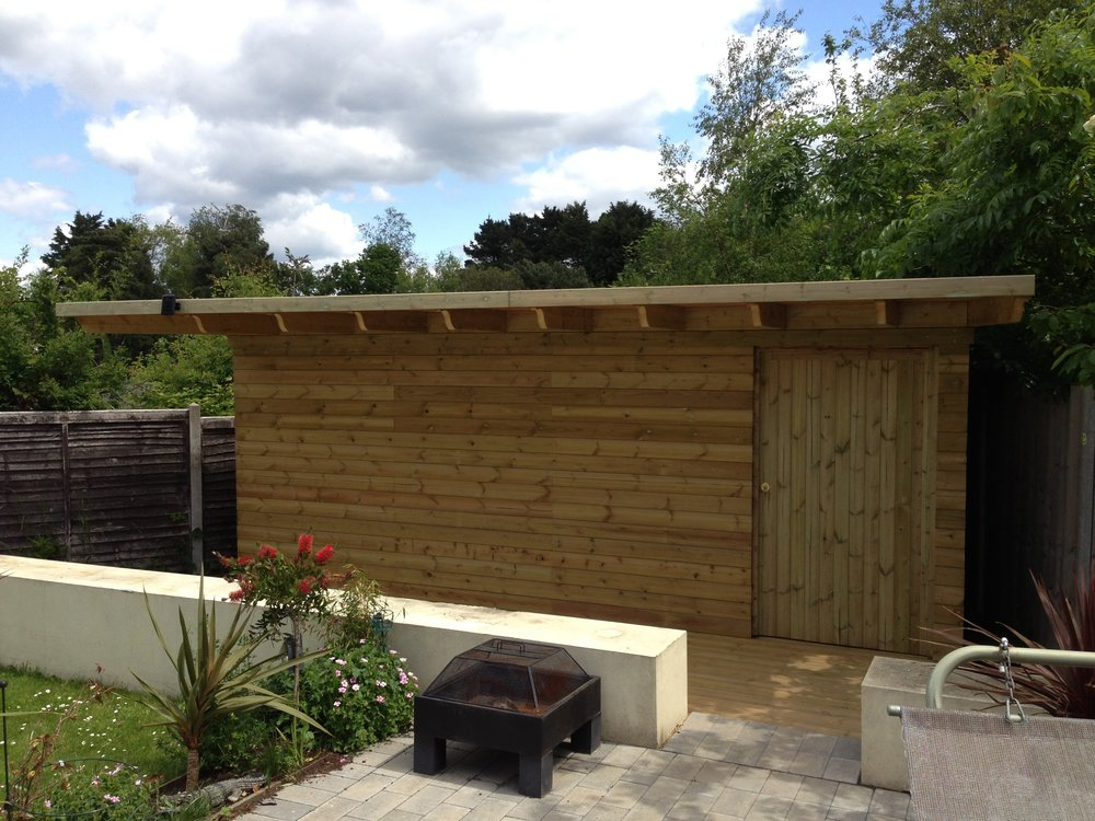 Bespoke Shed Bournemouth