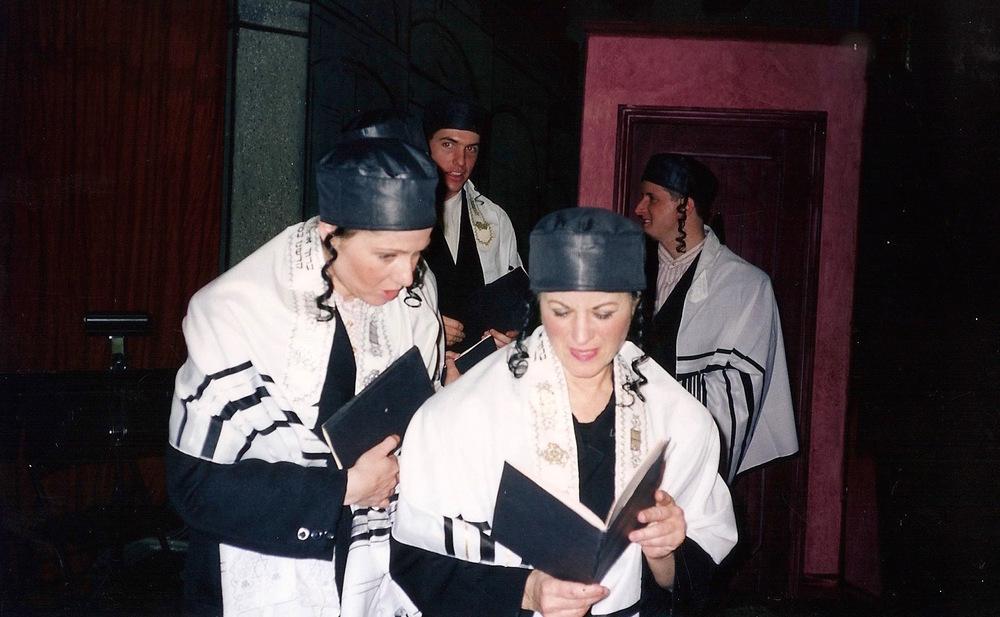 Leila Shukur, Barbara Goodson, Jim Felton & Richard McPhee
