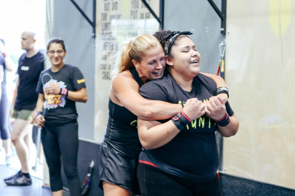 Acceptance -  CrossFit is suitable for everyone. Here at TRIBE if you are willing to work hard, you will fit right in.