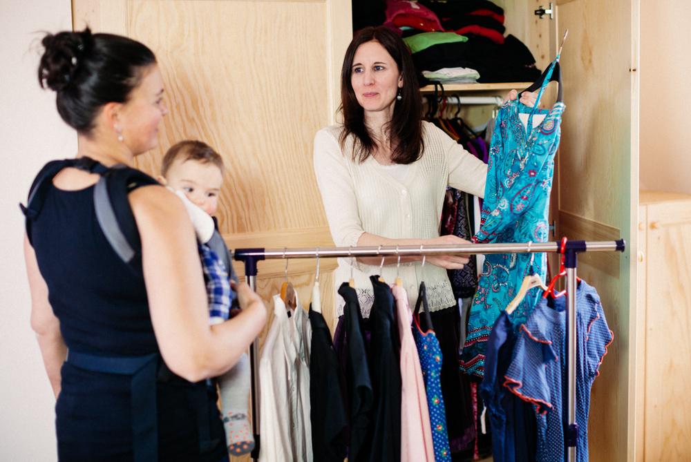 Kleiderschrank ausmisten mit Aufräum-Coach