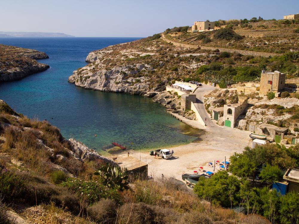 2. Mgarr Ix-Xini (Fish Specialty Beach Grill), Gozo