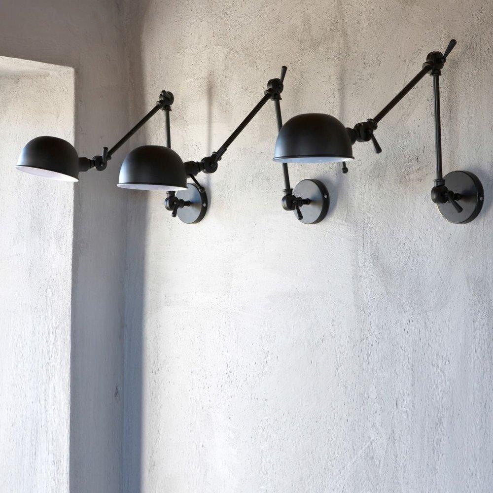trend industrial wall sconces light your shelves statements in tile lighting kitchens flooring. Black Bedroom Furniture Sets. Home Design Ideas