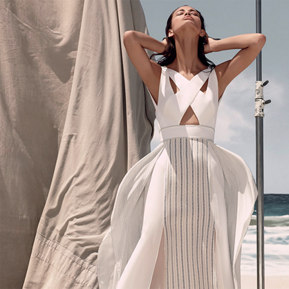 BCBG Max Azria Resort 2015.
