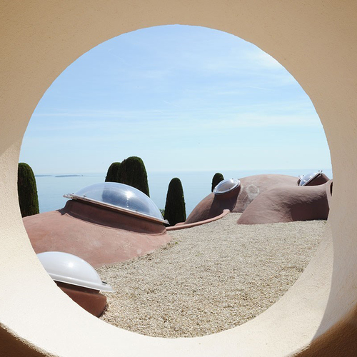 Palais Bulles, location of the Christian Dior Cruise Show 16.