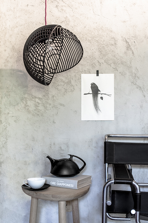 Dana pendant lamp designed by Luis Arrivillaga.