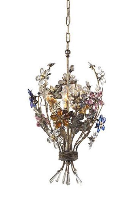 Floral pendant.