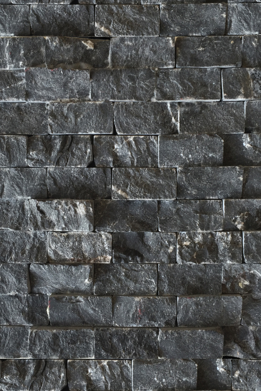 Rough Black Stone Tile Statements in Santa Fe