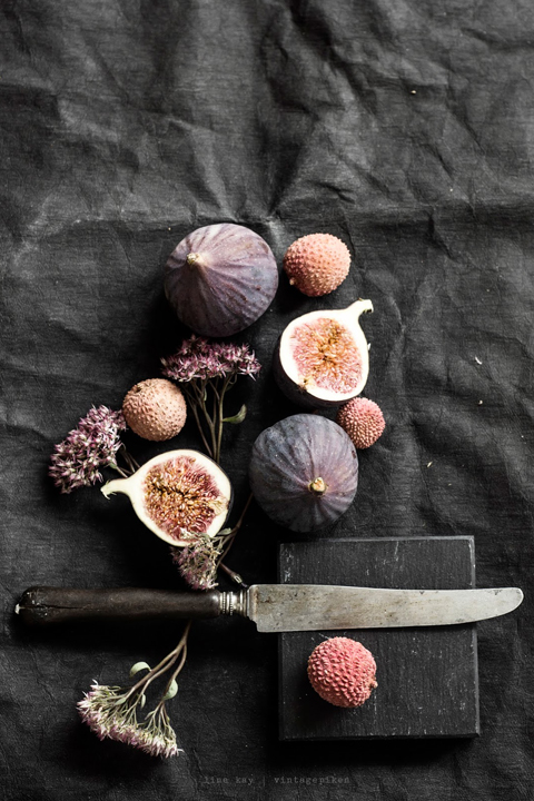 Figs and an old knife.