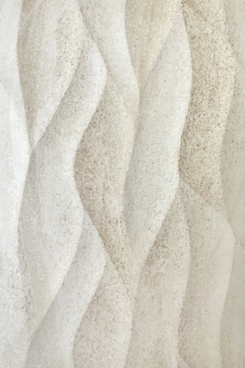 White Sand Dune Textured Tile