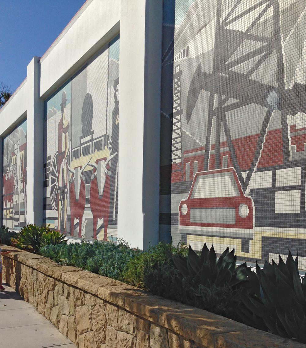 Statements Tile Santa Barbara Industrial Mural