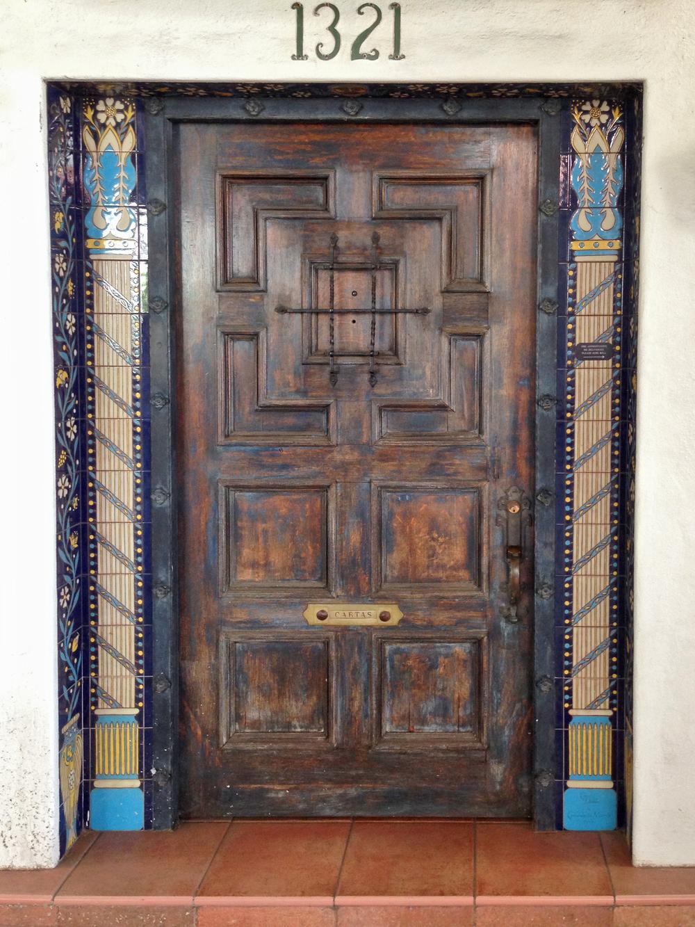 Statements Tile Door Surround Santa Barbara