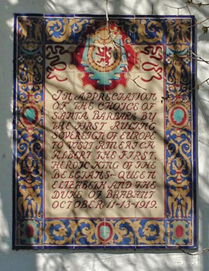 wall+mosaic+dedication+statements+santa+barbara