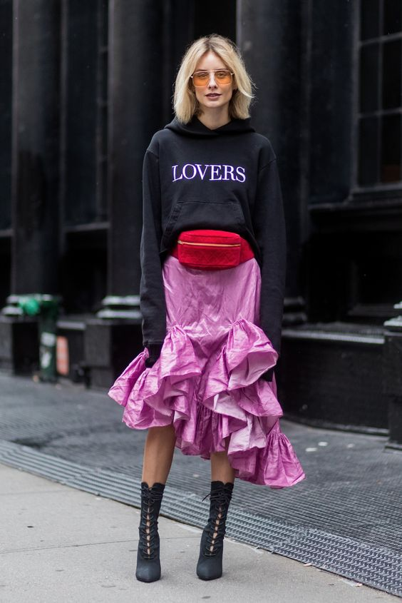 Street Style Trend from NYFW via Popsugar, Getty Image.