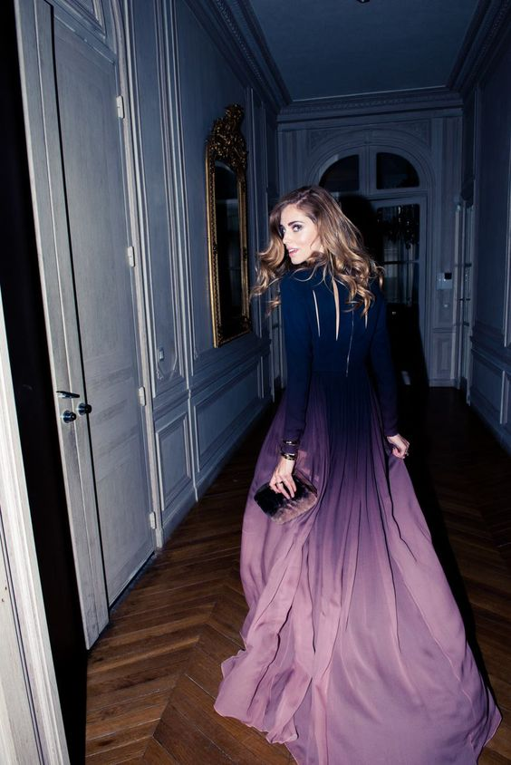 Dress by Elie Saab.