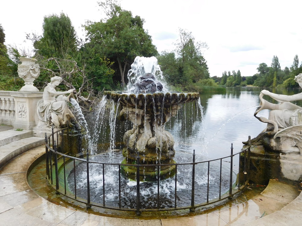 ^ The Italian Gardens, Hyde Park