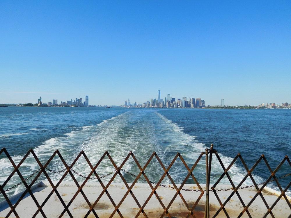 ^ Ferry to Staten Island