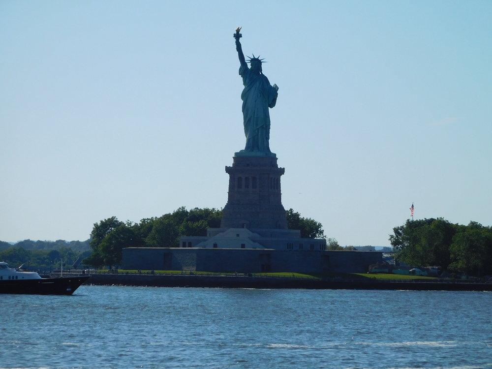 ^ Statue of Liberty