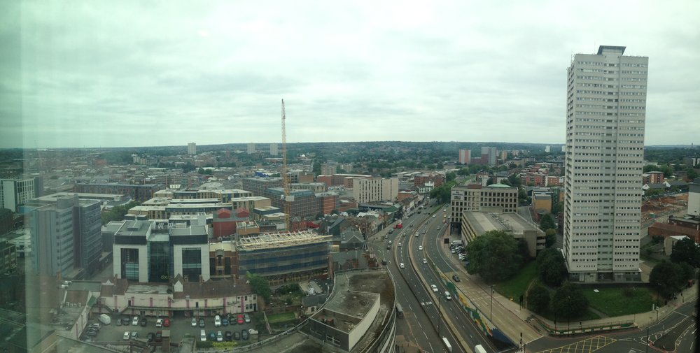 Panorama from hotel