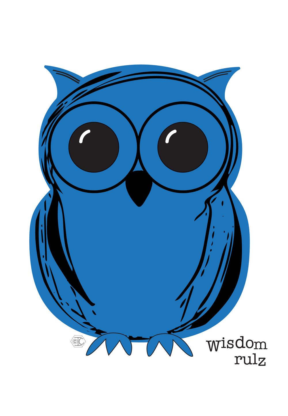 Owl wisdom rulz_GreetingCard 900x1300px.png
