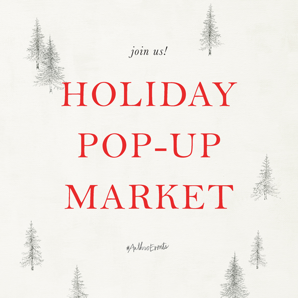 Anthropologie Pop Up Show