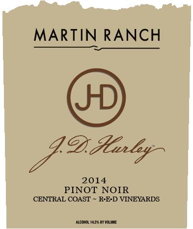 J.D. Hurley 2014 Pinot Noir