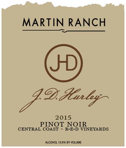 J.D. Hurley 2015 Pinot Noir